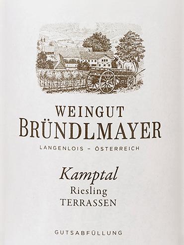 Riesling Kamptal Terrassen 2018 - Bründlmayer von Weingut Bründlmayer