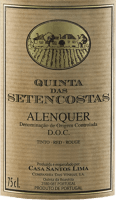 Vorschau: Quinta das Setencostas Alenquer DOC 2017 - Casa Santos Lima