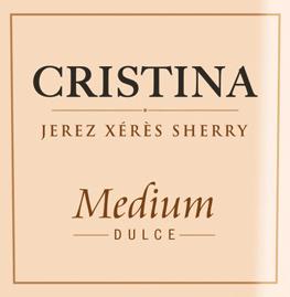 Der Cristina Medium von González Byass ist ein wundervoller, samtweicher Sherry aus dem spanischen Weinanbaugebiet DO Jerez, der aus den Rebsorten Palomino Fino (87%) und Pedro Ximenez (13%) vinifiziert wird. Im Glas glänzt dieser Sherry in einer warmen Bernsteinfarbe mit goldenen Highlights. Das intensive und aromatische Bouquet offenbart intensive Noten nach Gewürzen, getrockneten Feigen und Rosinen, sowie dezente Nuancen von Eichenholzwürze. Am Gaumen präsentiert sich dieser Sherry samtweich und vollmundig mit einer feinen und fruchtigen Süße. Der lange Nachhall ist äußerst aromatisch. Vinifikation des González Byass Cristina Medium Die Trauben werden rebsortenrein getrennt gelesen und separat in Edelstahltanks vergoren. Auch die anschließende 6-jährige Reife in den Soleras wird getrennt vorgenommen. Erst nach dieser Reifezeit werden die beiden Rebsorten miteinander vermählt und werden für weitere 2 Jahre in das Christina-Solera gelegt. Nach insgesamt 8 Jahren Reife wird dieser wundervolle Sherry auf die Flasche gefüllt. Es werden ausschließlich 600 Liter Fässer aus amerikanischer Eiche verwendet. Speiseempfehlung für den González Byass Cristina Medium Genießen Sie diesen lieblichen Sherry zu kleinen Nuss-Snacks, allerlei Pasteten oder auch zu würzigen Käseplatten mit beispielsweise Blauschimmelkäse, Epoisses oder Munster.