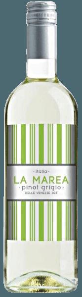 Der Pinot Grigio del Veneto IGT von La Marea erscheint im Glas in einem hellen Gelb, welches von grünlichen Reflexen durchzogen wird. Das Bouquet dieses Weißweines aus Italien entfaltet frische Aromen von Zitrusfrüchten und einen Hauch von süßer Mandel. Diese Noten setzen sich auch am Gaumen fort. Der La Marea Pinot Grigio hinterlässt einen frischen Eindruck durch seine knackige Säure. Speiseempfehlung für den Pinot Grigio del Veneto IGT von La Marea Genießen Sie diesen trockenen Weißwein als Aperitif, zu Couscous mit Lachs oder Mozzarella mit Melone und Schinken.