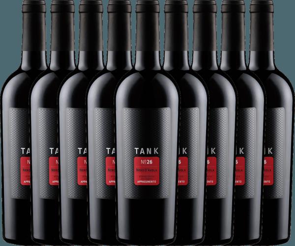 9er Vorteils-Weinpaket - TANK No 26 Nero d'Avola Appassimento IGT 2019 - Cantine Minini