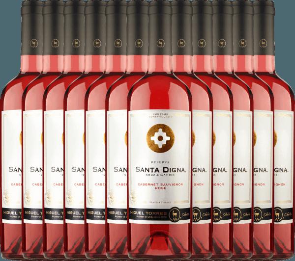 12er Vorteils-Weinpaket Santa Digna Rosé 2020 - Miguel Torres Chile