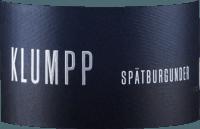 Vorschau: Spätburgunder trocken 2018 - Klumpp