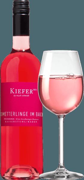18er Vorteils-Weinpaket - Schmetterlinge im Bauch Rosé 2019 - Weingut Kiefer von Weingut Kiefer