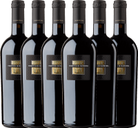 6er Vorteils-Weinpaket - Sessantanni Primitivo di Manduria DOC 2016 - Cantine San Marzano