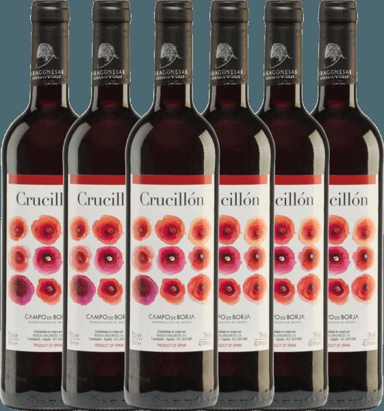 6er Vorteils-Weinpaket - Crucillón DO 2019 - Bodegas Aragonesas