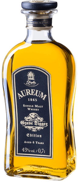 Aureum 1865 Grave Digger Edition Single Malt Whisky 6 Jahre 0,7l - Ziegler