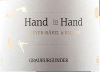 Vorschau: Hand in Hand Grauburgunder 2020 - Meyer-Näkel & Klumpp