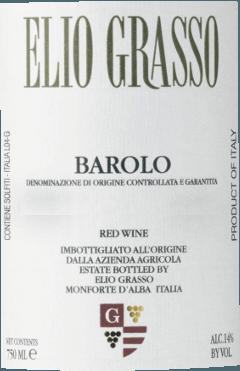 """Der Barolo DOCG von Elio Grasso ist ein Cru von den Lagen Vigna Chiniera und Casa Mate. Im Glas erstrahlt er in einem edlen Rot. An der Nase beeindruckt dieser elegante Barolo mit einem intensiven Bouquet von Waldbeeren, Gewürzen, Kaffee sowie mineralischen Noten. Im Geschmack trocken, zeigt er sich am Gaumen mit besonderem Feinschliff, samtweich,und komplex, und einem rassigen Säurespiel. Langer, nachhaltiger Abgang voller Finesse. Ein höchstdekorierter und charakteristischer Barolo! Herstellung des Barolo von Elio Grasso Nach der manuellen Lese der Nebbiolo-Trauben im Weinberg Vigna Chiniera und Casa Mate, erfolgt die temperaturkontrollierte Mazerierung und alkoholische Gärung in Edelstahltanks. Dabei wird der Schalenhut täglich sanft untergehoben, um ein Maximum an Gerbstoffen, Inhaltsstoffen und Farbe zu erhalten. Nach der malolaktischen Gärung reift der Wein in 25-Hektoliter Holzfässern aus slawonischer Eiche für etwa 30 Monate. Nach der Flaschenabfüllung, in der Regel im August, lagert der Barolo Gavarini Vigna Chiniera noch weitere 8 bis 10 Monate im Keller, bevor er in den Verkauf kommt. Speiseempfehlung für den Barolo von Elio Grasso Genießen Sie diesen beeindruckende Barolo von Elio Grasso als hervorragender Begleiter zu Schmorbraten vom Rind und Wildgerichten. """"(...) Ich kann mir einen Winter ohne Barolo nicht vorstellen, jedenfalls nicht ohne den von Elio Grasso. Dieser leichte morbide Duft, dieses Beeren-, Trüffel-, Teer-Aroma, diese dekadente Süße - ein Wein, der die Welt verklärt, wenigstens einen Moment lang.""""Jens Priewe in """"Der Feinschmecker"""" Auszeichnungen The Wine Advocate Robert M. Parker - 92 Punkte für 2014 James Suckling - 95 Punkte für 2012 Vinous - 96 Punkte für 2012"""