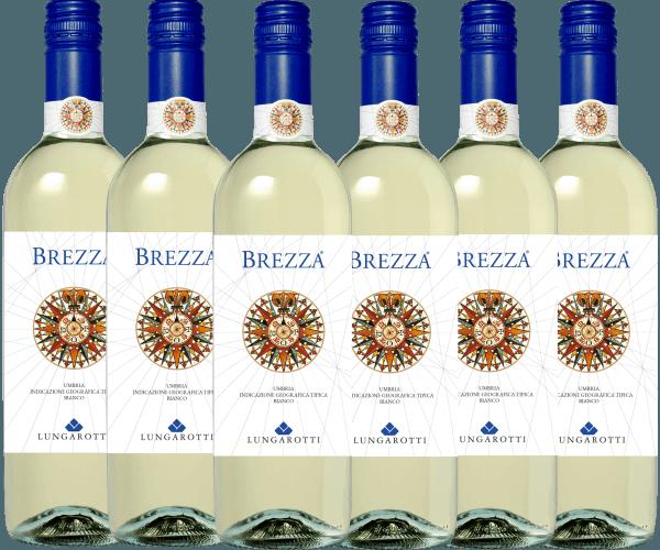 6er Vorteils-Weinpaket - Brezza Bianco Umbria 2020 - Lungarotti