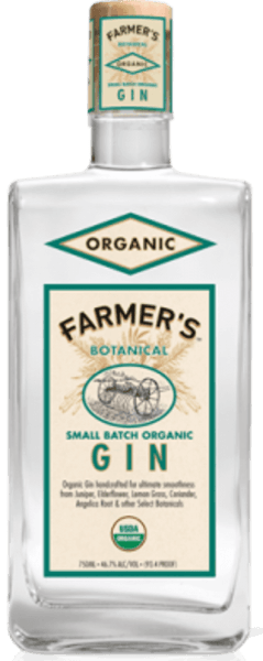 Farmer's Botanical Organic Small Batch Gin 46,7% - Crop Harvest