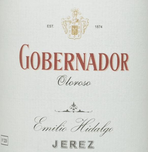 Gobernador Oloroso - Emilio Hidalgo von Emilio Hidalgo
