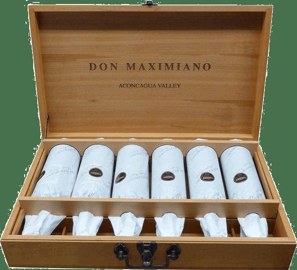 6er HK Jahrgangskollektion Don Maximiano - Viña Errazuriz