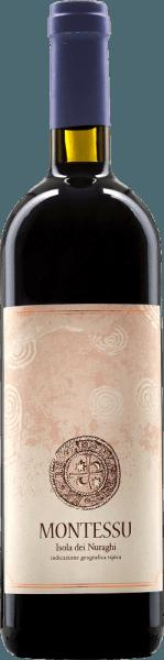 Der Montessu Isola dei Nuraghi von Agricola Punica ist ein angenehm zugänglicher Rotwein aus Sardinien, der mit seiner tief rubinroten Farbe und violetten Schattierungen begeistert. Der Montessu betört mit einem zarten und zugleich eindringlichen Bouquet nach roten Waldbeeren, etwas Lakritze und dezent kräutrigen Anklängen. Am Gaumen verführen Himbeeren und Heidelbeeren mit etwas Lakritze sowie einem schön ausbalancierten Geschmack und gut eingebundene Tannine. Wir empfehlen den Montessu zu Schmorbraten und mittelreifem Käse.