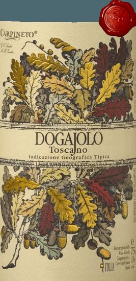 Der Dogajolo Toscano Rosso von Carpineto ist der Klassiker unter den Baby-Supertuscans. Wie bei allen Supertoskanern, so bildet auch beim Dogajolo Rosso die Chianti-Rebe Sangiovese das Herz des Weines. Ergänzend werden Cabernet Sauvignon und weitere Rebsorten hinzu gegeben. Die Farbe des Dogajolo Rosso ist am besten mit einem leuchtenden Kirschrot beschrieben. Mitteldicht liegt er im Glas und duftet elegant nach reifen Sauerkirschen, ergänzt um etwas Granatapfel und rote Johannisbeere. Zarte Nuancen von Vanille und ein feiner Hauch Eichenholz ergänzen. Am Gaumen ist derDogajolo Toscano Rosso angenehm frisch, lebendig und griffig. Präsente aber gut integrierte Tannine und eine frische Fruchtsäure geben dem Wein Griff und Charakter. Ein exzellenter Speisebegleiter, der auch bei gehaltvoller, fettiger Kost nicht den Geist aufgibt. Vinifikation des Dogajolo Toscano Rosso Die Trauben werden nach Rebsorten getrennt gelesen und separat vinifiziert. Anschließend reifen sie in kleinen, gebrauchten Eichenfässern, in denen auch die biologische Säureumwandlung stattfindet. Nach der Abfüllung im März und April des Folgejahres kommt dieser Rotwein aus der Toskana direkt in den Handel, kann aber auch problemlos einige Jahre gereift werden. Speiseempfehlungen für den Dogajolo Toscano Rosso von Carpineto Genießen Sie diese Toscana-Cuvée zu deftigen Fleischgerichten, zu gegrilltem Rind und Schwein oder zu einer deftigen Wurstplatte mit gutem Bauernbrot. Natürlich passt der Dogajolo Rosso auch super zu Pastagerichten mit Fleisch- oder Tomatensaucen. Prämierungen für den Carpineto Dogajolo Rosso Selection: 3 Sterne (sehr gut) für 2015 Wine Enthusiast: 86 Punkte für 2015 Wine Spectator: 86 Punkte für 2014 Wine Align: Top Value für 2012 World Wine Award of Canada: Gold für 2012