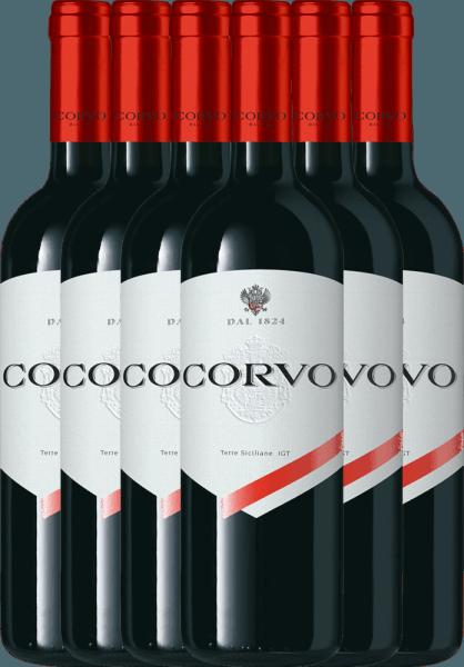 6er Vorteils-Paket - Corvo Rosso Terre Siciliane 2019 - Duca di Salaparuta