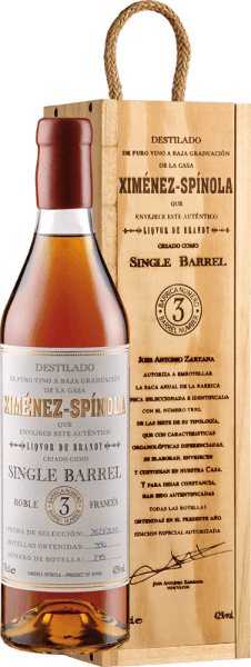 Single Barrel D.O. - Ximénez-Spinola