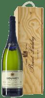 Cremant Saphir Saumur Brut 3,0 l Jeroboam in Holzkiste - Bouvet Ladubay