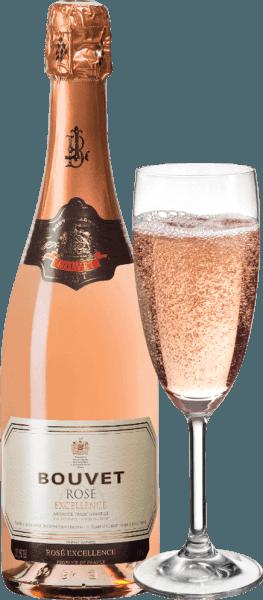 3er Vorteils-Weinpaket - Crémant Brut Rosé Excellence - Bouvet Ladubay von Bouvet Ladubay