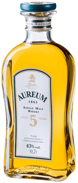 Aureum 1865 Single Malt Whisky 5 Jahre 0,7 l - Ziegler
