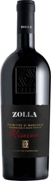 Zolla Riserva Primitivo di Manduria DOP 2017 - Farnese Vini