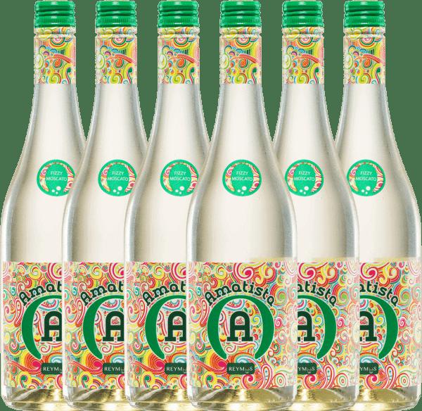 6er Vorteils-Weinpaket - Amatista Moscato Blanco Frizzante - Anecoop