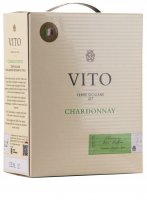 Vito Chardonnay 3,0 l Bag in Box Weinschlauch - Mondo del Vino