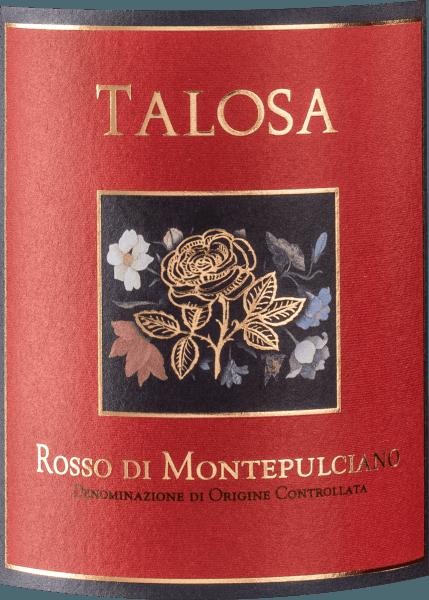DerRosso di Montepulciano DOC vonFattoria della Talosabeeindruckt durch sein funkelndes Rubinrot mit violetten Reflexen. An der Nase präsentiert dieser Rosso di Montepulciano ein satte Frucht von dunklen Beeren und Schwarzkirschen, im Hintergrund zarte, integrierte Würze, etwas schwarzen Pfeffer sowie dezente Röstnoten. Kraftvoll im Geschmack, körperreich mit runden Tanninen, die im Abgang weich und harmonisch ausklingen. Vinifizierung des Rosso di Montepulciano von Fattoria della Talosa Für diesen geschmackvollen Rotwein aus der Toskana vinifiziert Fattoria della Talosa 85% Sangiovese und etwas Merlot aus den jüngeren Weinberge, während der Canaiolo von 30-35 Jahre alte Reben stammt. Der Anteil an Merlot und Canaiolo macht maximal 15% aus. Nach der Gärung und malolaktischen Gärung in Edelstahltanks wird der Wein für 6 bis 8 Monate teilweise in Edelstahl und teilweise in großen, bereits ein oder zwei Mal verwendeten Holzfässern und Tonneaux ausgebaut. Food pairing für den Rosso di Montepulciano von Fattoria della Talosa Geniessen Sie diesen saftigen toskanische Rotwein zu geschmortem und gegrilltem Fleisch und zu Wild Auszeichnungen Wine Spectator - 89 Punkte für 2011