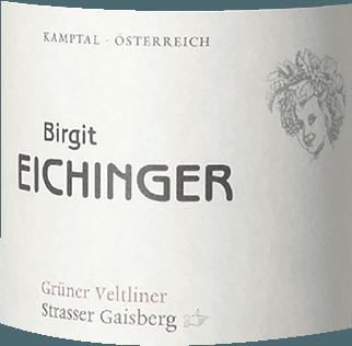 Ried Strasser Gaisberg Grüner Veltliner Erste Lage Kamptal DAC 2018 - Birgit Eichinger von Birgit Eichinger
