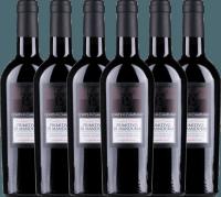 6er Vorteils-Weinpaket - Primitivo di Manduria DOC 2017 - Conte di Campiano