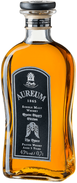 Aureum 1865 The Bruce Grave Digger Edition Single Malt Whisky 5 Jahre 0,7l - Ziegler