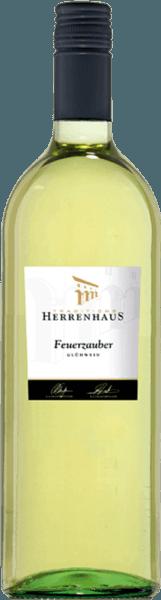 Weißer Winzer-Glühwein Herrenhaus Feuerzauber 1,0 l - Lergenmüller von Weingut Lergenmüller