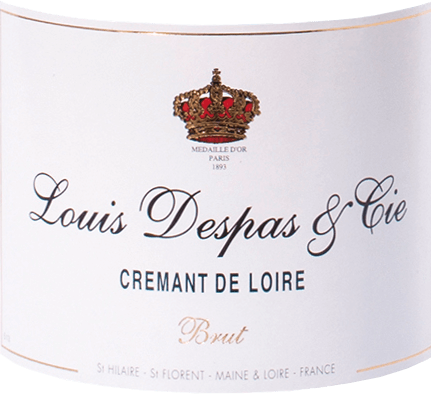 Crémant de Loire Brut - Louis Despas von Bouvet Ladubay