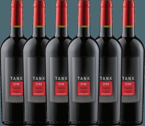 6er Vorteils-Weinpaket - TANK No 32 Primitivo Appassimento 2019 - Cantine Minini