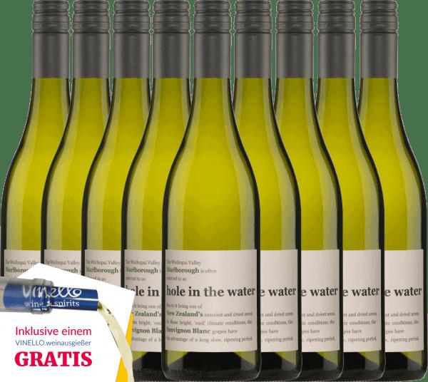 9er Vorteils-Weinpaket - Hole in the Water Sauvignon Blanc 2019 - Konrad Wines von Konrad Wines
