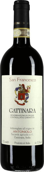San Francesco Gattinara DOCG 2013 - Antoniolo