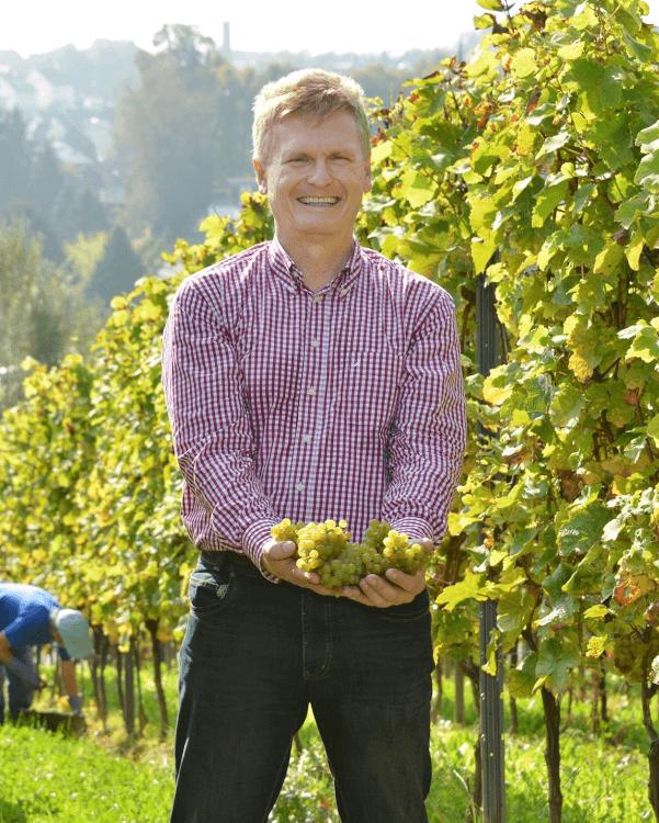 Der Weingutsbesitzer in 4. Generation - Wilhelm Weil