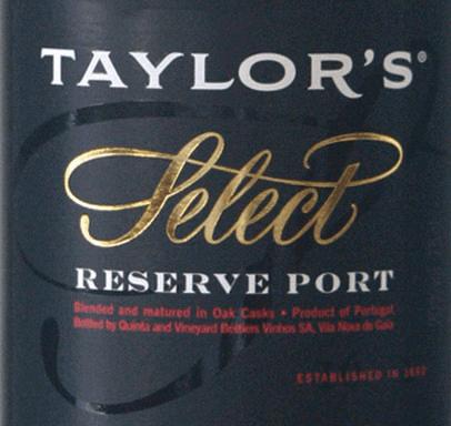 Ruby Select Reserve 0,375 l - Taylor's Port von Taylor's Port