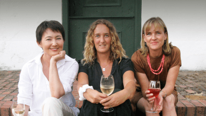 Marie, Anette und Vicky