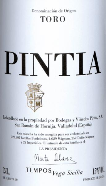 Pintia Toro DO 2015 - Vega Sicilia von Vega Sicilia