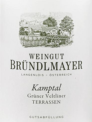 Grüner Veltliner Kamptal Terrassen 2019 - Bründlmayer von Weingut Bründlmayer