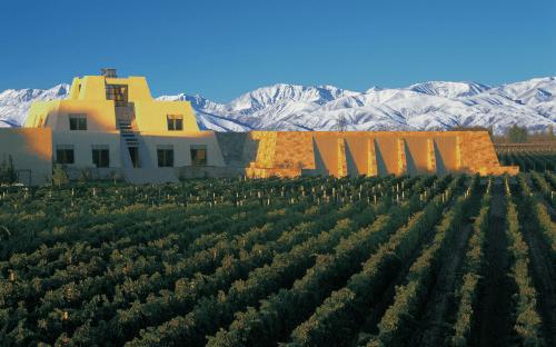 Die Bodega Catena Zapata in Mendoza