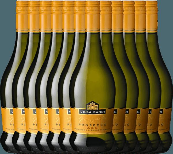 12er Vorteils-Weinpaket - Prosecco Frizzante DOC - Villa Sandi