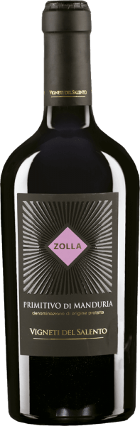 Zolla Primitivo di Manduria Rotwein