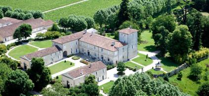 Das Anwesen von Château Castera