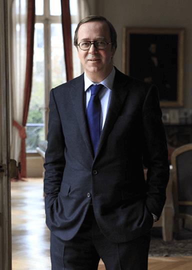 Frédéric Rouzaud vom Champagnerhaus Roederer
