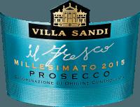 Vorschau: il Fresco Prosecco Spumante Millesimato Brut DOC 2019 - Villa Sandi