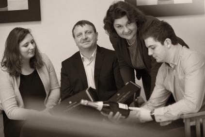 Manon, Bruno, Laurence und Guillaume