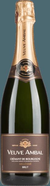 Millésimé Brut  Crémant de Bougogne AOC 2016 - Veuve Ambal