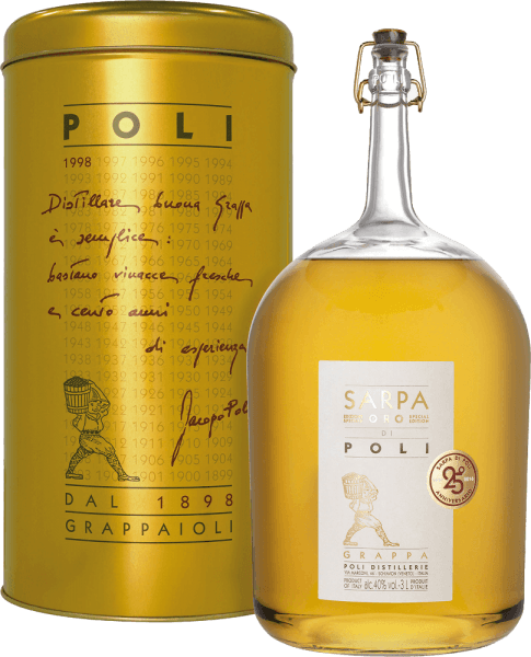 Sarpa Oro di Poli Grappa 3,0 l Big Mama in GP - Jacopo Poli von Jacopo Poli